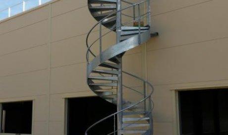 ARG Pose Fabrication et pose d'escalier métallique Rosières